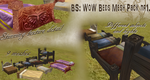BS WoW Beds Mesh Pack nr1. by BurnSightFH