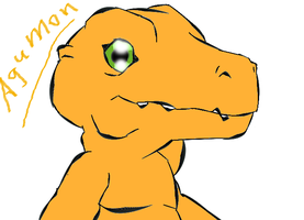 Agumon by elizagame