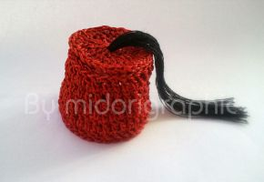 crocheted chechia ( Tunisian traditional hat ) by midorigraphic