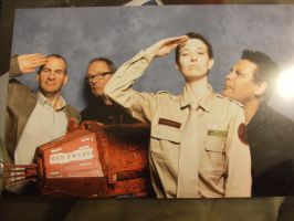 Arnold J Rimmer Cosplay - EMS Oct 2012 - Cast Shot by ruepaw