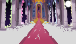 Post Apocalyptic Canterlot Throne Room by Magister39