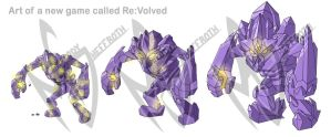 Re:Volved Crystal Knight Evolution by DranixParemoon