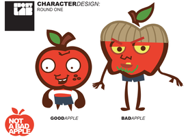 Not a Bad Apple: Model Sheet 1 by sattideleon