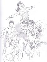 01032014 Teentitans by guinnessyde