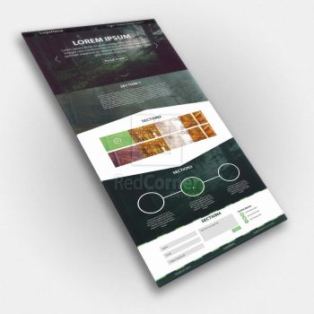 [Website] Mockup: Template A by Cordelier
