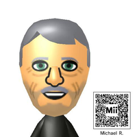 Michael Rosen Mii by TheStaticStalker