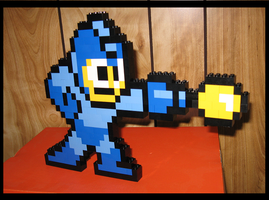Lego Megaman by Spawn-of-Jack