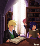 the old library by GaaraJamiE88