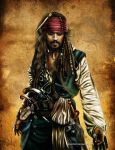Captain Jack Sparrow by Mareishon