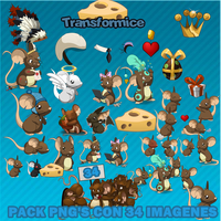 Transformice Pack PNG by Ferbigor