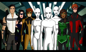 DC Collab: Next Generation by MistressTerrible