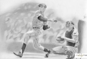 Joe DiMaggio by nathanng