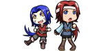 Chibi Commission :Feiyl and Paila by L421