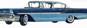 age of chrome and fins: 1958 Chevrolet by Peterhoff3