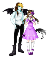 :COMMISSION: Peter and Kat by chrecand