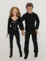 Barbie Divergent Dolls by bondagebondi