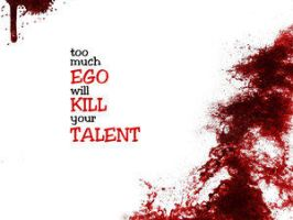 Ego Can Kill by 365art