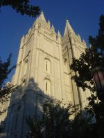 Salt Lake City Temple by mandreab