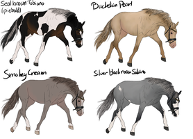 Horse Adoptable Batch 2 ALL GONE by ItsDirrtyArt