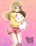 Bee and Puppy Cat by Yeti-Echoer