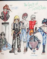 Guyz of soulblade by mewta-the-lost