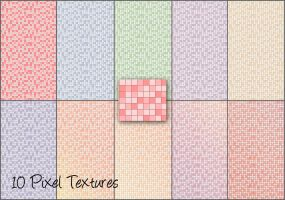 Pixel Textures by cazcastalla