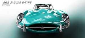 1962 Jaguar E-Type by DyMHL