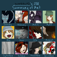 2011 Art Summary by RobotsWithCookies