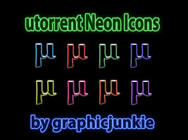 utorrent Neon Icons by graphicjunkie
