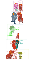 Aradia-ALL THE SHIPS by Lalariceball