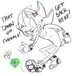 Shadow Doodle - That Damn 4th Emerald by alleycatwoman127