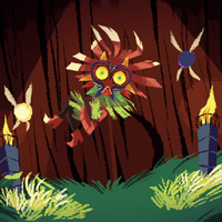 Skull Kid animated by Pikila