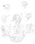 Perma sketchdump by WingedWilly