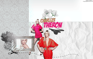 charlize theron by ANGOOY