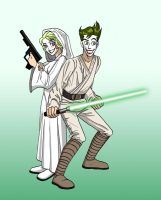 Jedi Jokers by insectikette