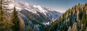 panorama ahrntal, south tyrol by wulfman65