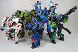 Wreckers Transformers Prime by Doubledealer93