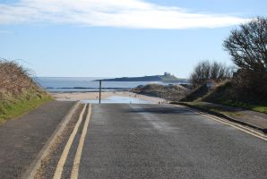 The Road to Dunstanburgh Castle by mr-macd