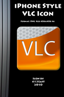 iPhone Style VLC Icon by 413East