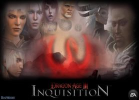 Dragon Age 3 Inquisition Promotional Wallpaper by RedVirtuoso