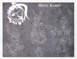 Faces of White Rabbit by wk-omittchi