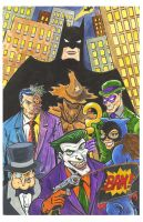 Batman Rogues by TonyMiello