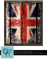 Union Jack Wood Art by obsessed-much