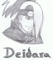 Deidara by Tiger-Gal