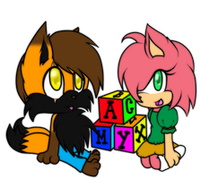 Collab: Baby Matt and Amy by MattMiles