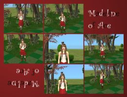 Madeline on The Sims by Silyah246