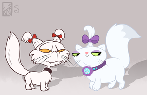 Some Cats by Kinla