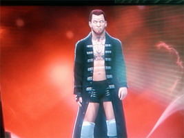 Ryan Riley Trunks Strapped Entrance Attire Front by ThexRealxBanks