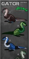 Gator Adoptables - CLOSED by TheJiggyMonster