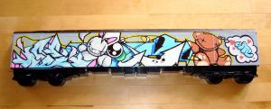 CUTE's Teddy Toy Train by EUKEE